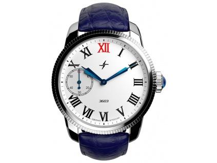 Pánské ruské hodinky Molnija retro Green Ray 2.0 1 Brown 16