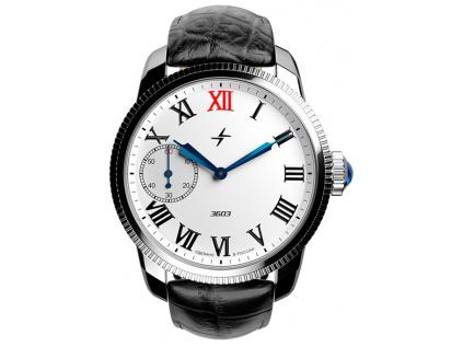 Pánské ruské hodinky Molnija retro Green Ray 2.0 1 Brown 10