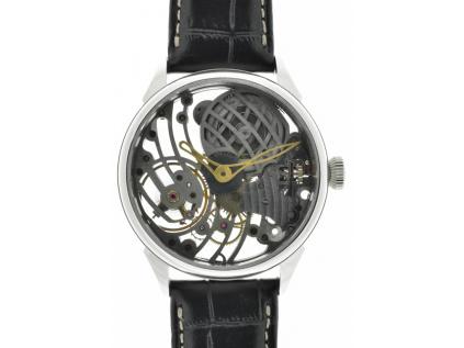 Unikátní skeletové hodinky Unitas 6498 - ruční práce