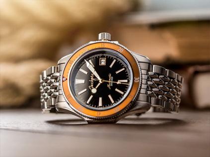 Geckota G-02 Diver Burnt Orange  – 3 roky záruka, 30 dní na vrácení + Multifunkční karta do peněženky