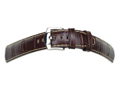 Hnědý kožený řemínek ZRC INDIANA XL