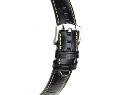 Černý kožený řemínek ZRC INDIANA XL