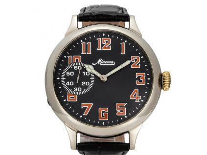 Minerva vojenské hodinky Swiss J15 1935-1940 / Limitovaná edice 1 kus