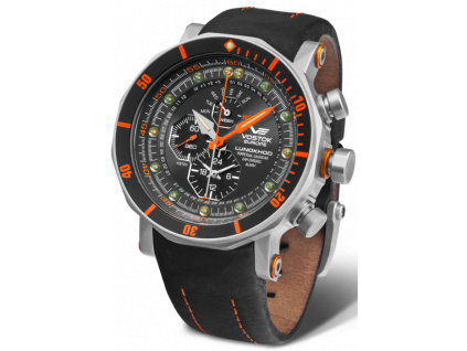 Lunokhod YM86 620A506 Black Leather Strap 600x794
