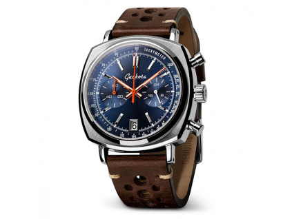 Geckota C-01 SII Racing Chronograf Blue Sunburst Dial