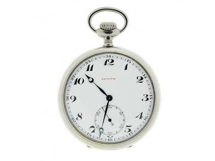Starožitné kapesní hodinky Zenith 1913-1914