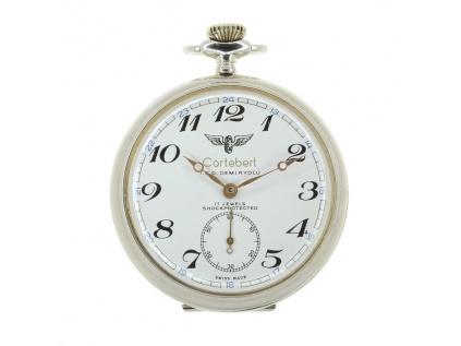 Kapesní hodinky Cortebért T.C.D. Demiryolu 1960-1970