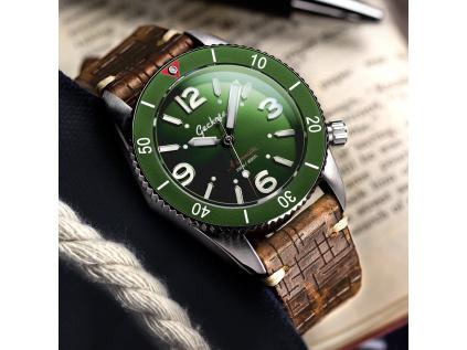 Geckota S-01 ETA Green - Luxusní dárková sada