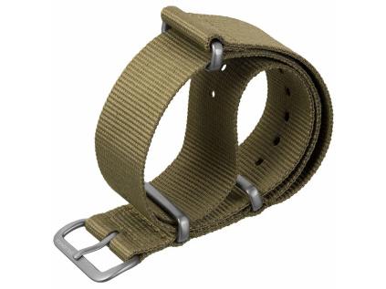 Geckota ZULUDIVER Lightweight zelený nylonový řemínek