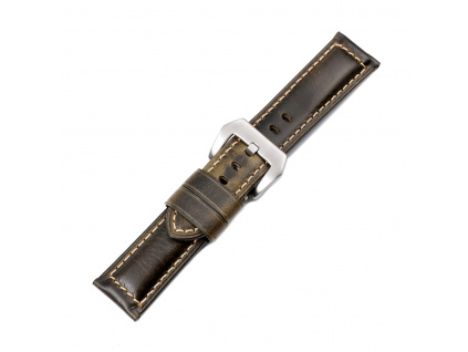 EACHE Oil Waxed Watch Strap Leather 20mm (3)