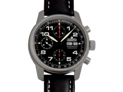 ARISTO Flieger 40 Titanium Chronograf 5H129Ti