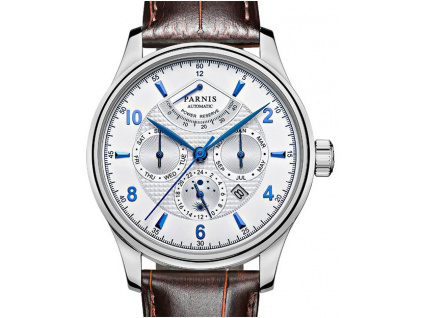 Parnis Classic S40 Complication Date Miyota