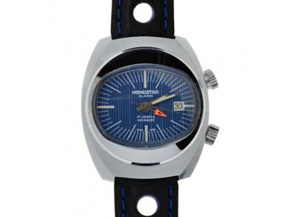 Vzácné starožitné hodinky Memostar Alarm A. Schild Cal. 1931