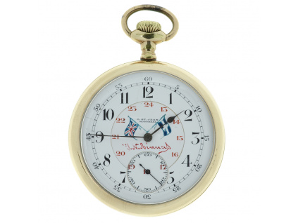 Starožitné kapesní hodinky O.ST.Jean Montreal 1915-1925