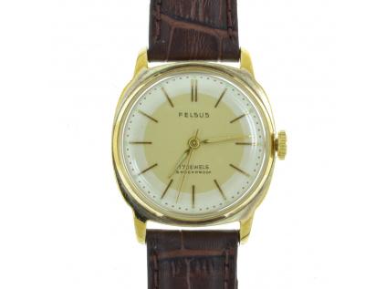 Starožitné hodinky FELSUS z roku 1970