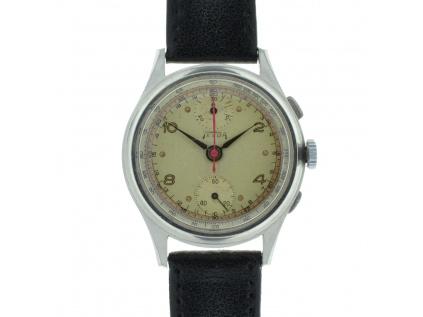 Starožitné vzácné chronografy Telda z roku 1950