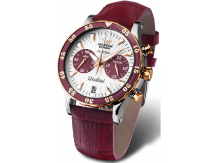 Undine VK64 515E567 watch with leather strap2 600x768