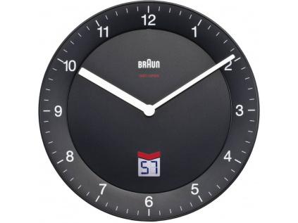 Analogové nástěnné hodiny DCF Braun