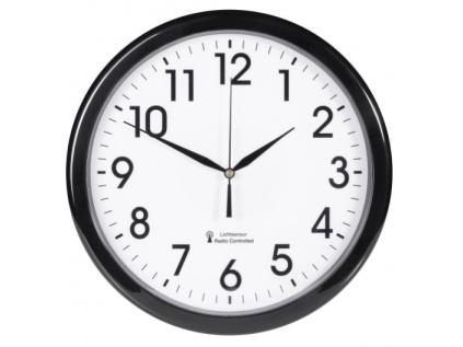 Analogové nástěnné hodiny se soumrakovým senzorem EuroTime