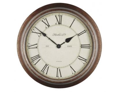 Analogové vodotěsné nástěnné hodiny WT 7006