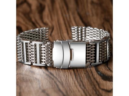 ocelový řemínek ocelový pásek na hodinky