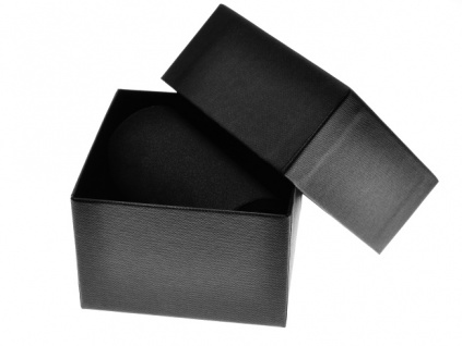 Papírová krabička s víčkem na náramkové hodinky