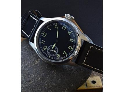 Parnis B-Uhr Z08035 hodinky panske vojenkse cerny cifernik