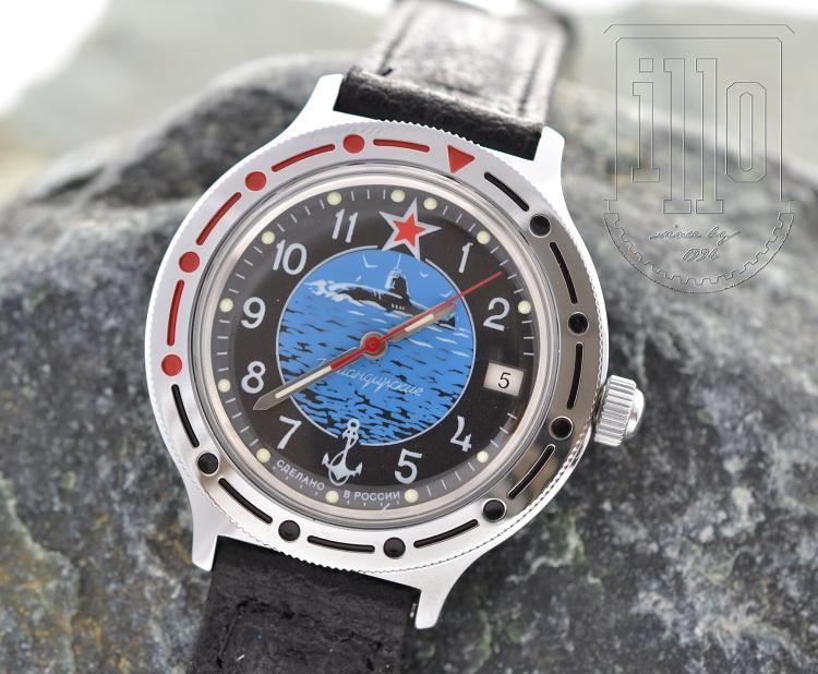 Vostok Komandirskie Ponorka 2 + + 1 měsíc na vrácení ... ce5f2289c76