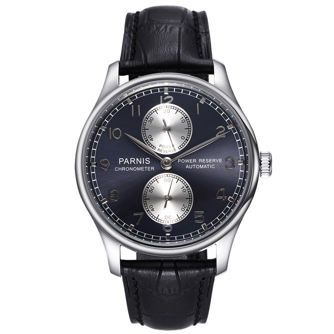 Parnis Classic 3116 Blue-Grey pover reserve f789e6404c1