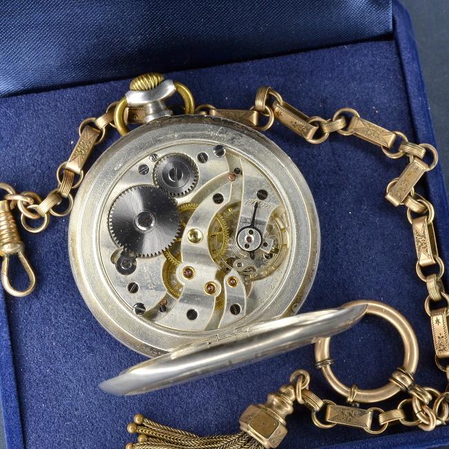 8505b18a5d3 Alpina kapesní vojenské hodinky 1930-1940