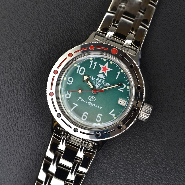 Vostok Komandirskie ruske hodinky Amfibia · Vostok Komandirskie ruske  hodinky Amfibia ... acdf62d5862