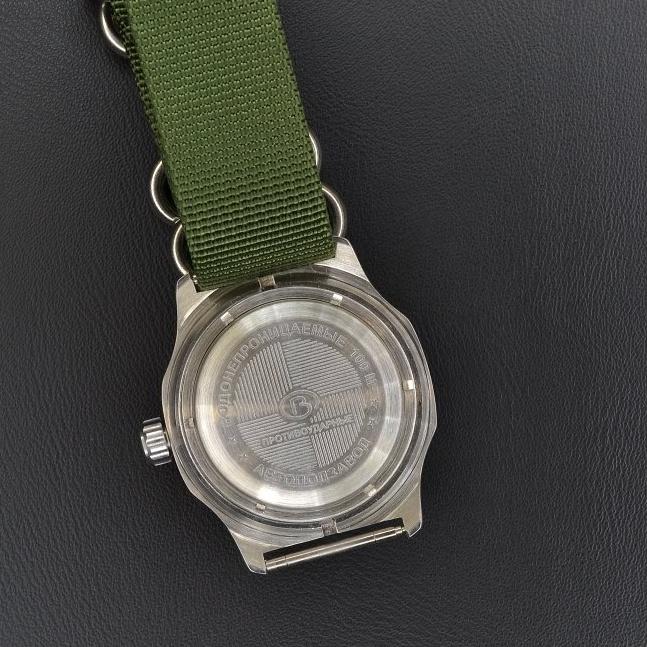 Vostok Komandirskie automatic 35 Green II + + 1 měsíc na vrácení ... a008f65b487