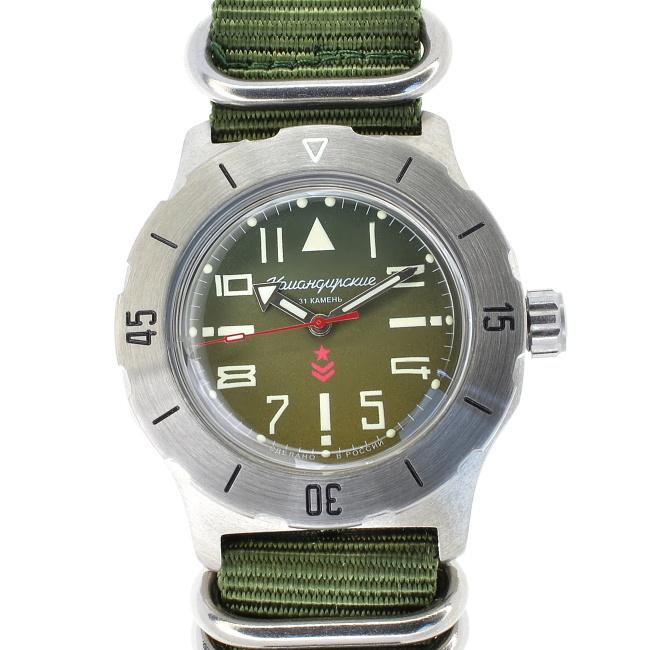 Vostok Komandirskie automatic 35 Green II + + 1 měsíc na vrácení ... dab9aa463c8