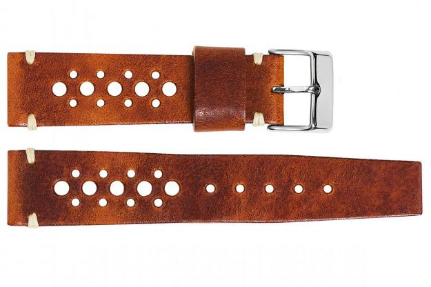 Luxusní ručně šitý řemínek Geckota Racing Šířka: 20 mm