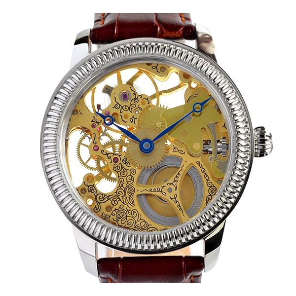 Luxusní skeletové hodinky M0186 - Swiss