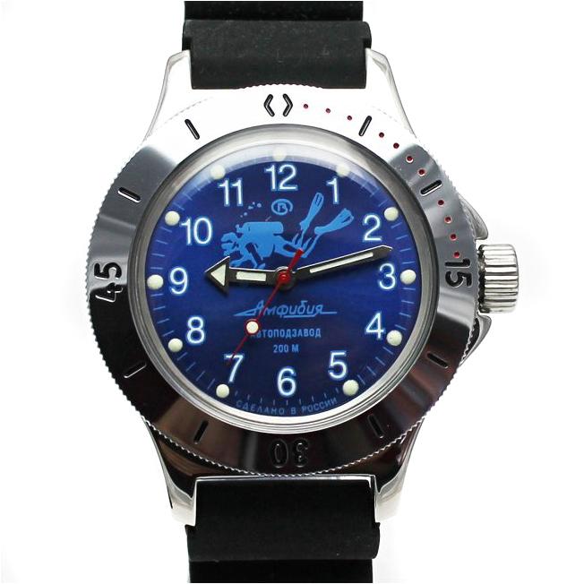 Amfibia Vostok potápěč 3 + + 1 měsíc na vrácení - nejpanskehodinky.cz 169ad6249f9