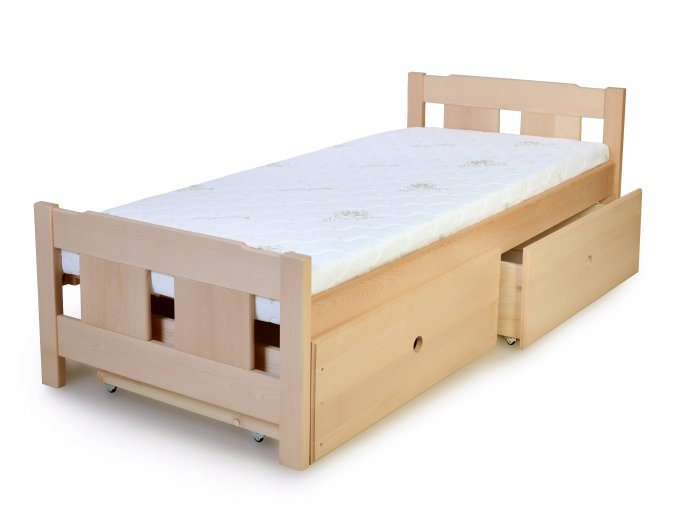 postel 90 200 ulozny prostor