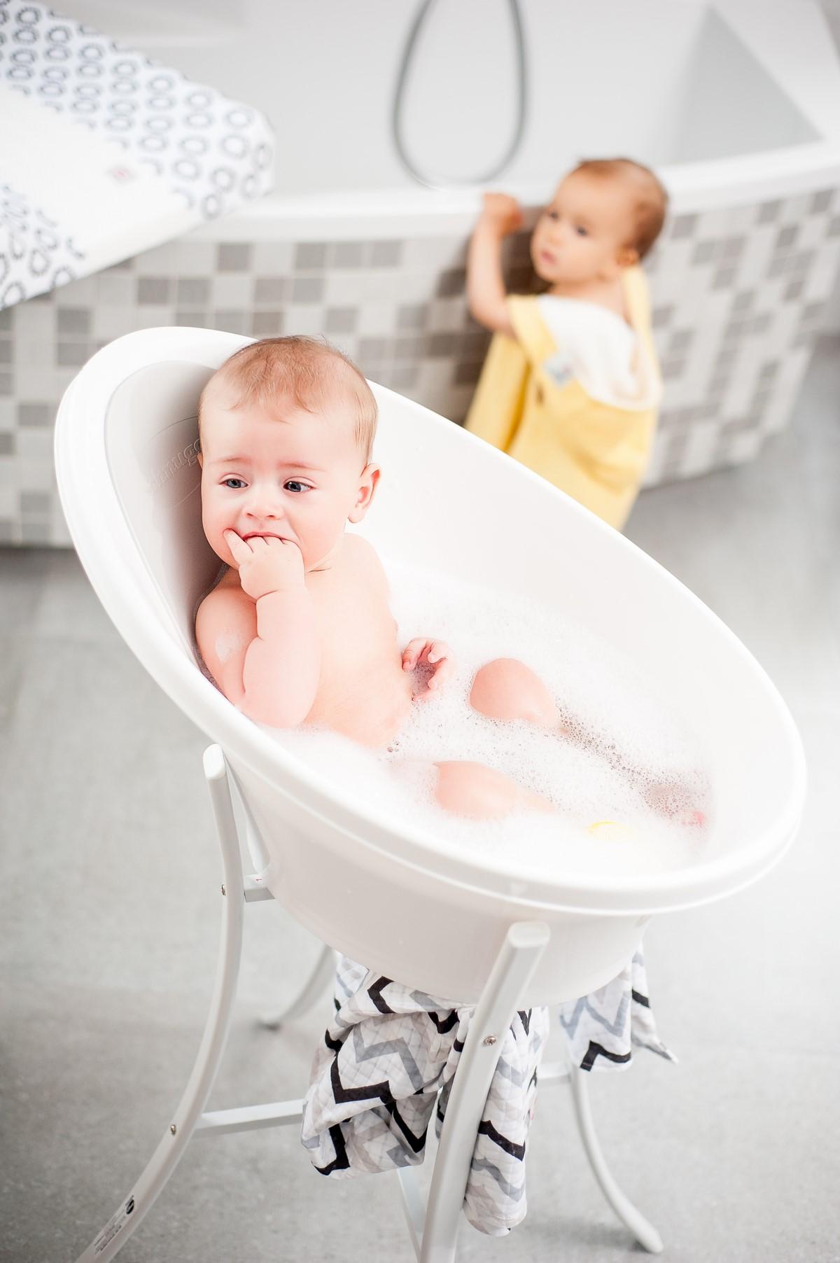 Jak na koupání miminka?
