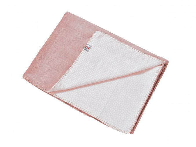 LODGER Deka Dreamer Scandinavian Flannel Blush