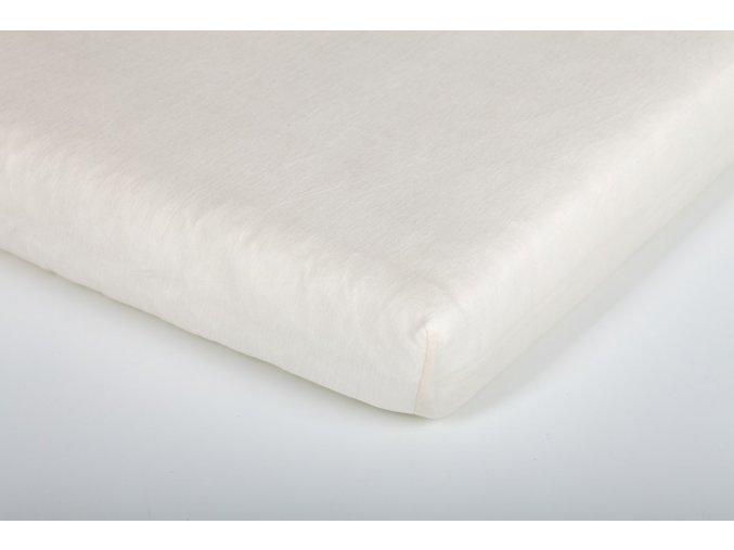 Träumeland prostěradlo jersey UNI beige 70 x 140 cm