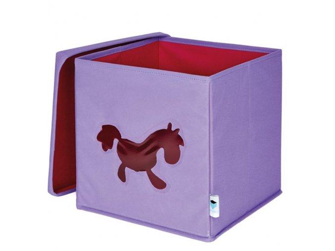 box s okénkem poník