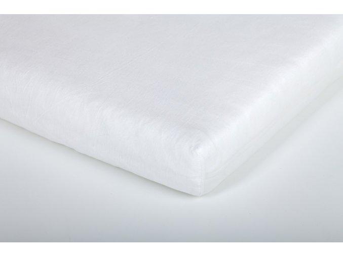 Träumeland prostěradlo jersey UNI bílé 70 x 140 cm