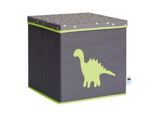 box s víkem dinosaurus 1