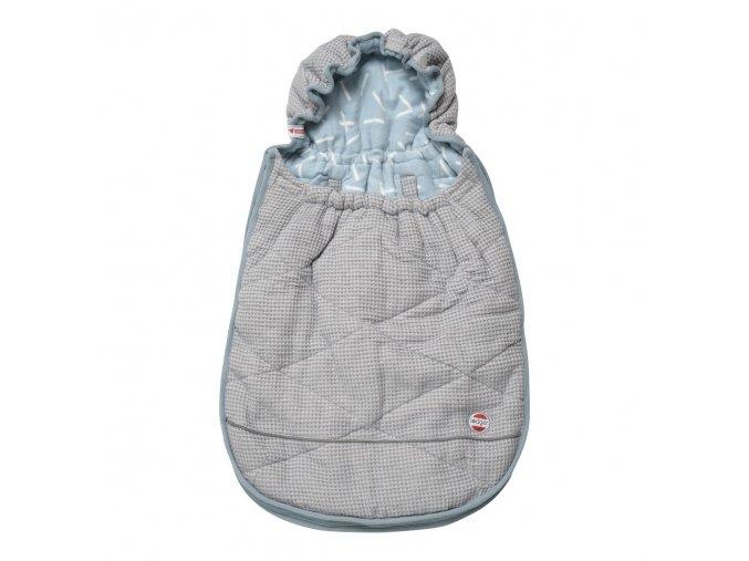 mini bunker honeycomb steel grey