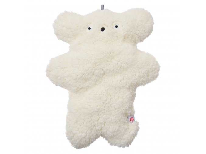 LODGER Fuzzy Sherpa Scandinavian Off-White vel. M