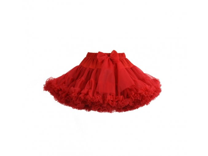 MANUFAKTURA FALBANEK Sukně Petti Skirt Red