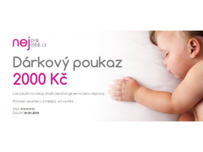 2000 poukaz