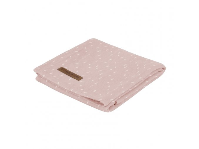 3773 swaddle small sprinkles pink