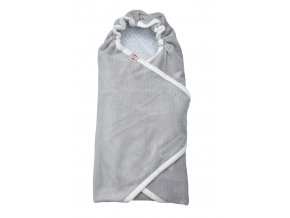 LODGER Zavinovačka Wrapper Newborn Scandinavian Flannel Mist
