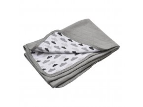 LODGER Deka Dreamer Quilt Grey
